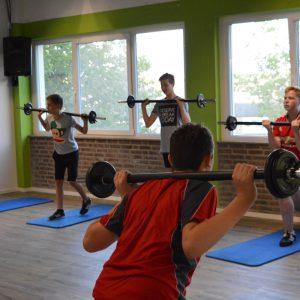 Sportgroep tieners MOVE